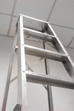 Aluminum Staircase Fold Stock Images
