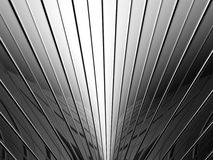 Aluminum stripe pattern background Royalty Free Stock Photo