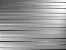 Aluminum stripe pattern background Royalty Free Stock Photography
