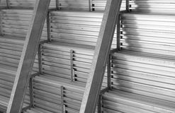 Aluminum Structure Stock Photo