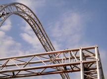 Aluminum structure Stock Photography
