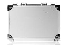 Aluminum suitcase Royalty Free Stock Photography
