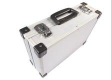 Aluminum suitcase Stock Photos