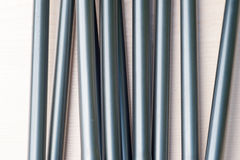 Aluminum tent pole Stock Photography