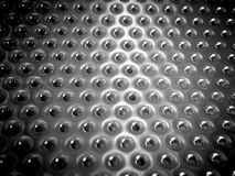 Aluminum texture. Background with aluminum abstract from inside the dryer Stock Photo