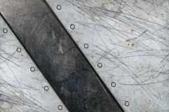 Aluminum textured background Royalty Free Stock Photo