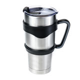 Aluminum thermos tumbler mug isolated on white background Royalty Free Stock Photo