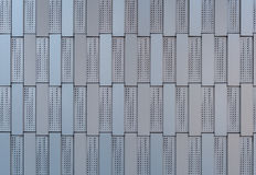 Aluminum Tile Wall Royalty Free Stock Image