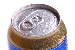 aluminum tin Arkivbild