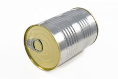 Aluminum tin can Royalty Free Stock Photo