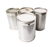 Aluminum Tin Can VII Stock Images