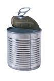 Aluminum tin can Royalty Free Stock Photos