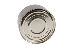 Aluminum tin can Stock Image