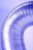 Aluminum tube, close up Stock Photo