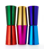 Aluminum tumblers Royalty Free Stock Photography