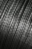 Aluminum twist wire Stock Image