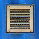 Aluminum ventilation Royalty Free Stock Photos