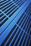 Aluminum ventilation grid Stock Photo