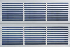 Aluminum ventilation grid Royalty Free Stock Photography