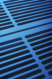 Aluminum ventilation grid Stock Photo