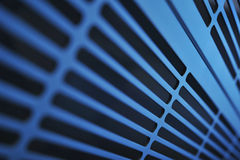 Aluminum ventilation grid Royalty Free Stock Photos