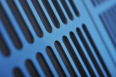 Aluminum ventilation grid Royalty Free Stock Photo