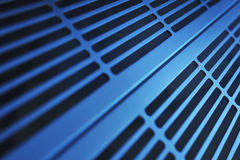 Aluminum ventilation grid Royalty Free Stock Images