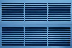 Aluminum ventilationsraster Arkivbilder