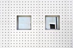 Aluminum wall Stock Photos