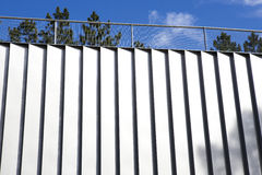 Aluminum wall Royalty Free Stock Image