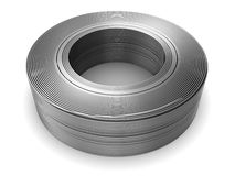 Aluminum wire 3d Royalty Free Stock Images