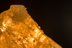 Alumkristaller Arkivfoto