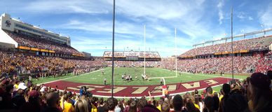 Alumni Stadium an Boston-College stockfotografie