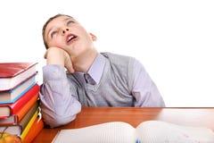Alumno enfadado Imagen de archivo