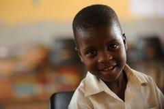 Alumnos africanos Imagenes de archivo