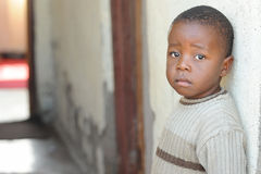 Alumnos africanos Foto de archivo libre de regalías