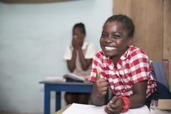 Alumnos b?sicos de Ghana, ?frica occidental imagen de archivo libre de regalías