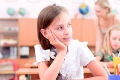 Alumnos en sala de clase Imagen de archivo