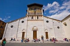 Alumnos italianos Fotografía de archivo libre de regalías