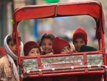 Alumnos la India Imágenes de archivo libres de regalías