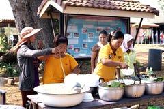 Alumnos tailandeses Imagen de archivo