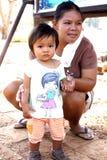 Alumnos tailandeses Imagen de archivo libre de regalías