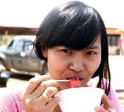 Alumnos tailandeses Fotografía de archivo