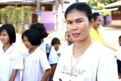 Alumnos tailandeses Foto de archivo libre de regalías