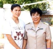 Alumnos tailandeses Imagenes de archivo