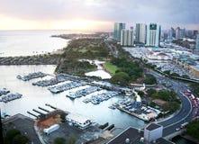 Alun Wai Harbor Arkivbilder
