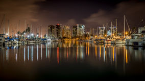 Alun Wai Harbor Arkivfoton