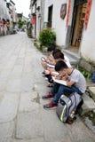 Alunos chineses Foto de Stock