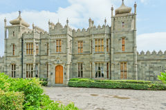 ALUPKA, RUSSIA - MAY 30, 2014: Vorontsov Palace in the town of Alupka, Stock Photo