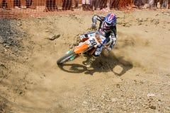 Alushta, Ukraine - April 1: Unknown racer. On the Ukraine championship of Crimea. 2012 stock photos